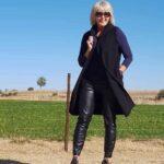 Ideas de outfits con abrigos para mujeres maduras