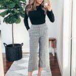 Ideas para usar pantalón de cuadros para el trabajo