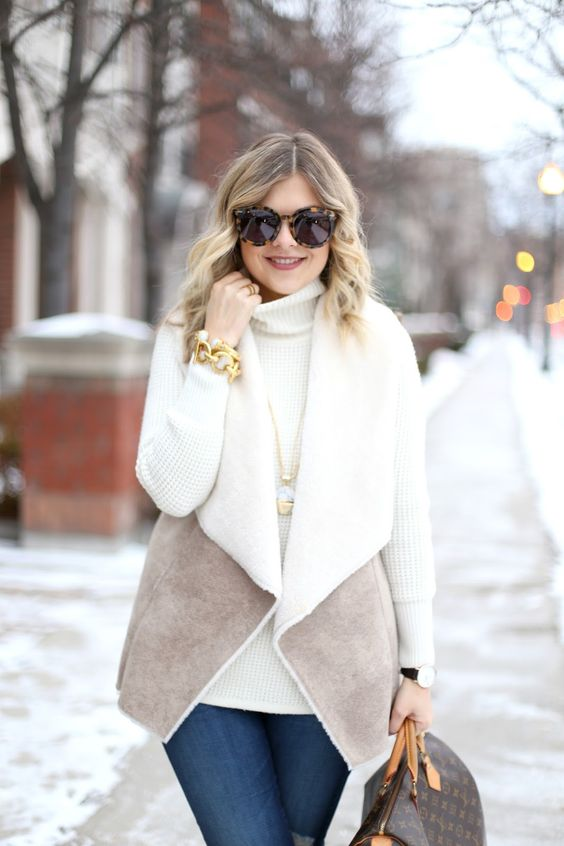 Looks casuales para invierno si eres una mujer madura