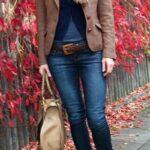 Looks de invierno con blazers marrón