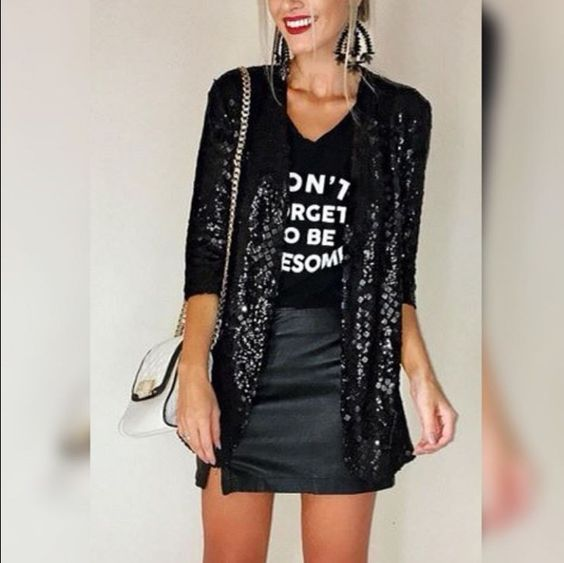 Outfits con t-shirt glamurosos