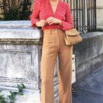 Pantalones wide leg para mujeres maduras