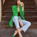 Blazers color verde