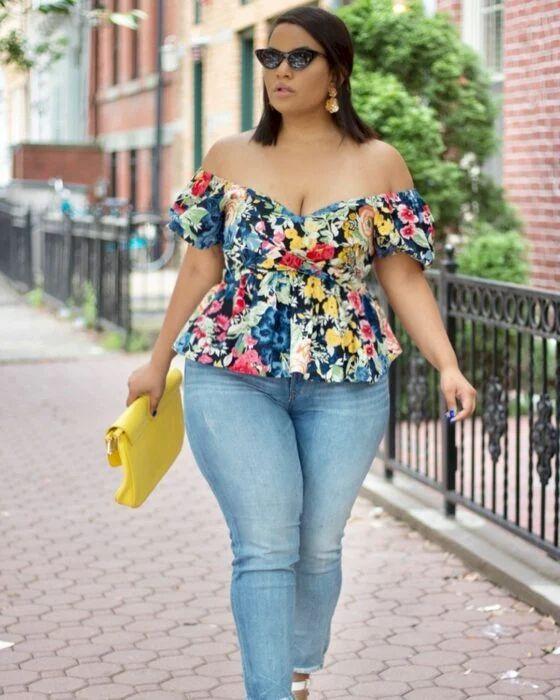 Blusas de verano para gorditas