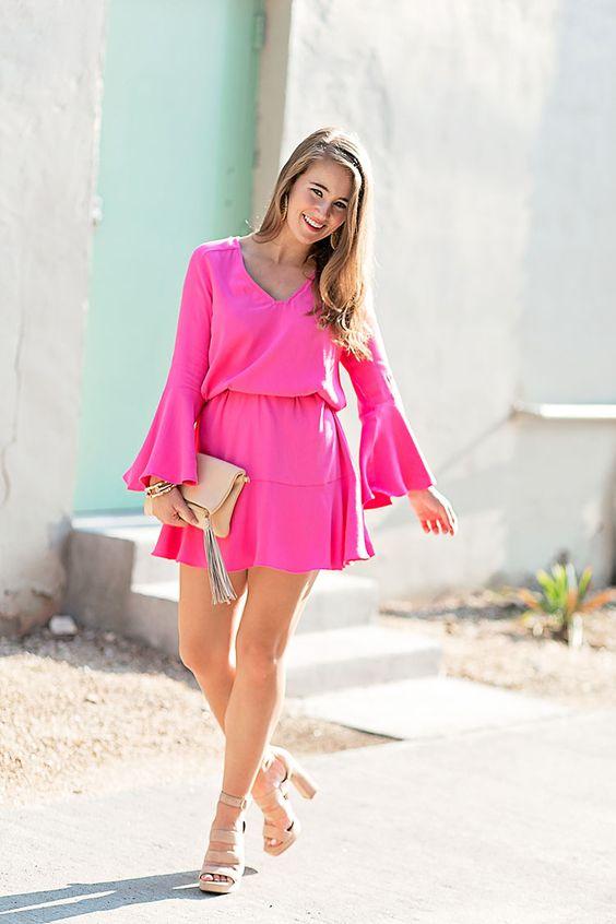 Ideas de looks con vestidos para primavera