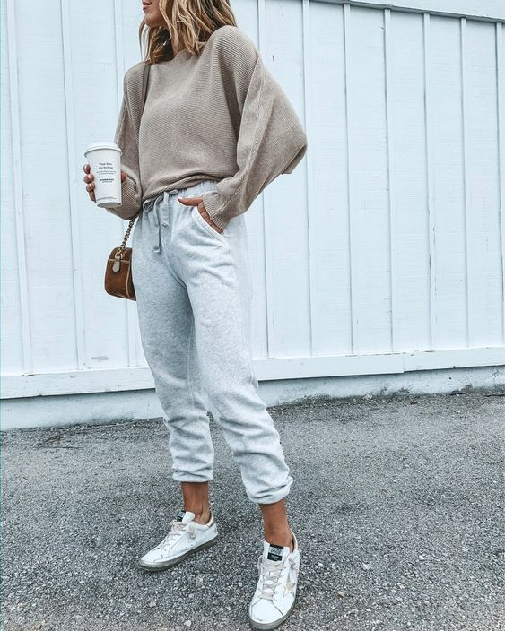 Ideas de outfits casuales con tenis