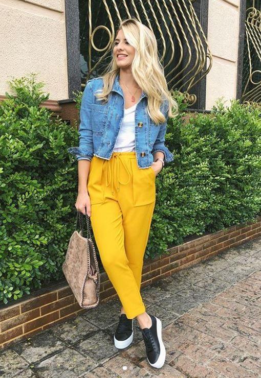Ideas de outfits color amarillo