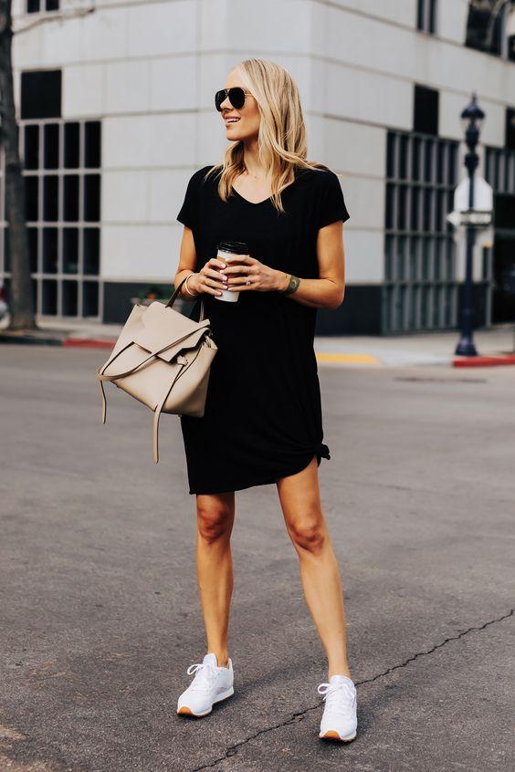 Looks cómodos y sofisticados con vestido