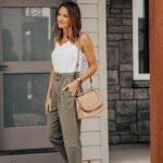 Looks con pantalones primavera -verano para mujeres maduras