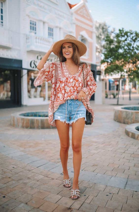 Outfits con short para primavera