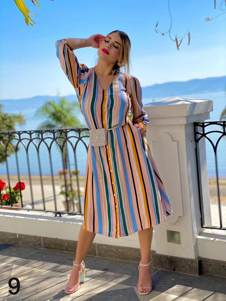 Vestidos primavera - verano para mujeres maduras