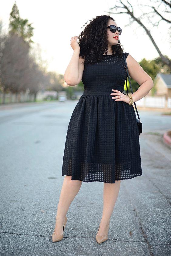Vestir color negro