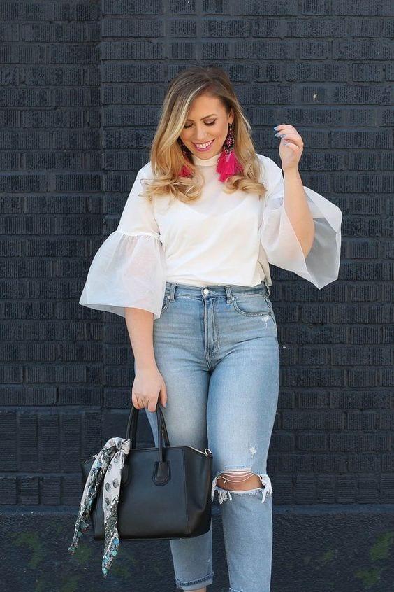 Blusas para mujeres con curvas