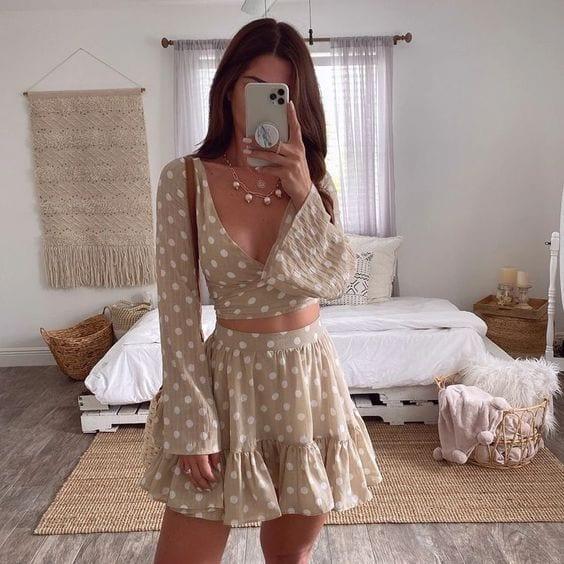 Conjuntos de falda primavera - verano