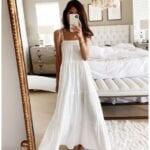 Diseños de vestidos blancos primavera - verano