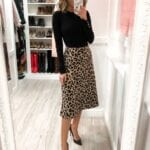 Faldas animal print para mujeres de 40