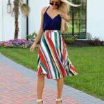 Faldas en línea A