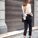 Formas de combinar tus jeans negros y verte fantástica