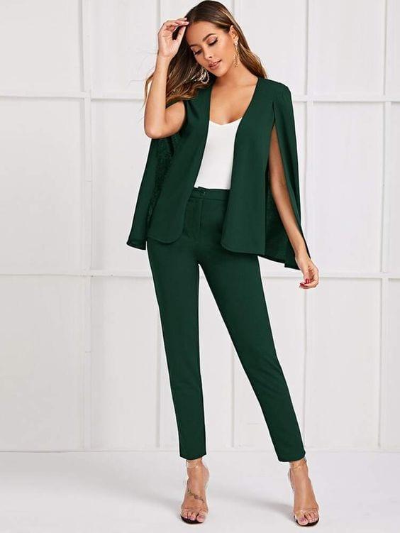 Ideas de blazer capa formal