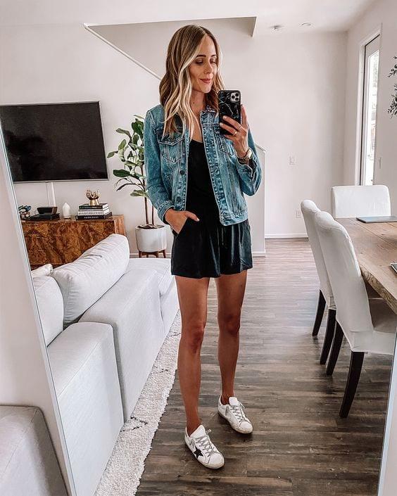 Ideas de outfits con romper y tenis