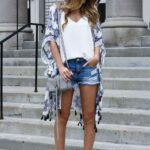Looks con kimono primavera - verano