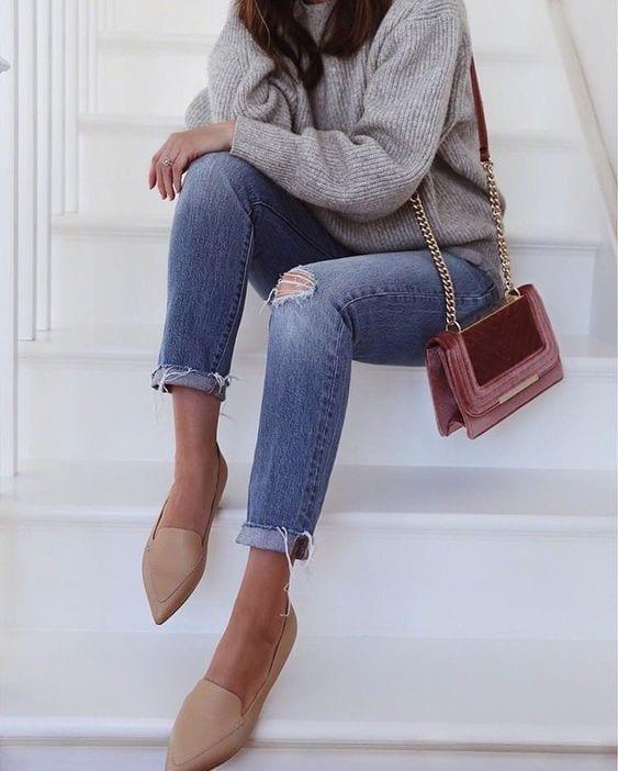 Maneras de usar zapatos sin tacón y verte hermosa si eres una mujer de 40