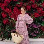Maxi vestidos con estampado floral para mujeres maduras