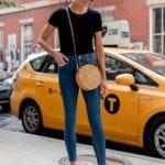 Opta por skinny jeans