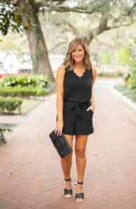 Outfits casuales color negro para primavera