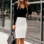 Outfits con falda para oficina