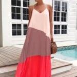 Outfits con maxi vestidos para la playa