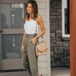 Outfits con pantalones estilo paper bag