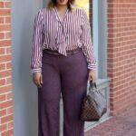 Outfits plus size para trabajo
