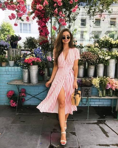 Outfits primaverales para mujeres maduras