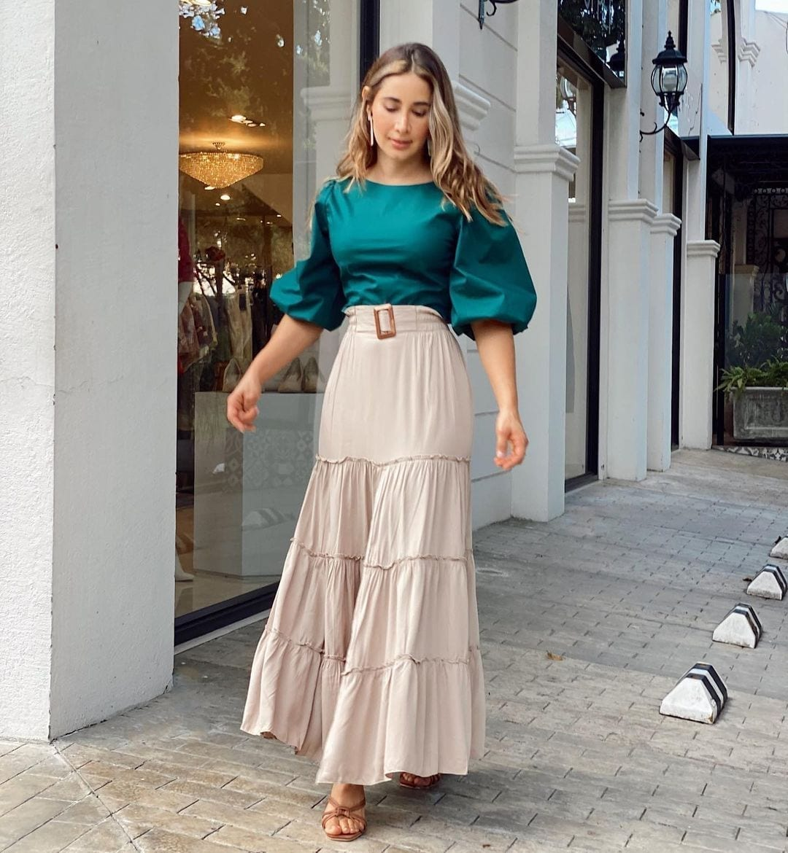 Tendencias en faldas primavera - verano para mujeres de 40