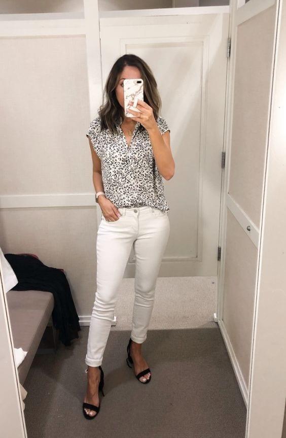 Usa jeans al tobillo