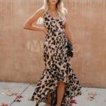 Vestidos animal print para mujeres de 40