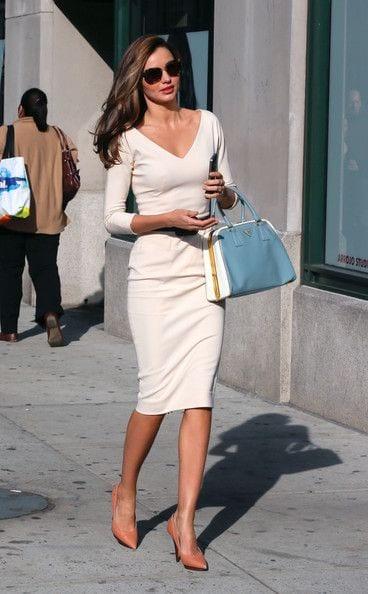 Vestidos corte lápiz para mujeres de 40