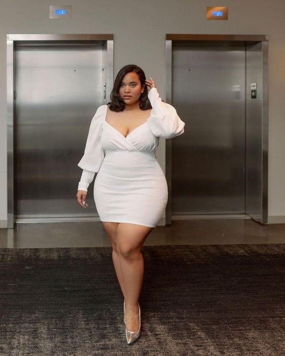 Vestidos para mujeres maduras con curvas