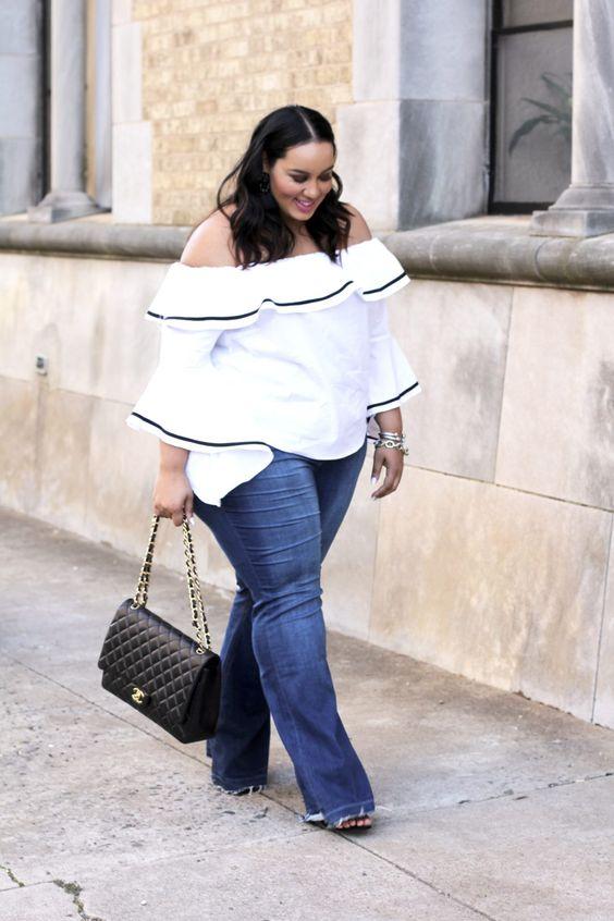 10 increíbles outfits para chicas con curvas