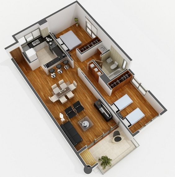 Plans to build a house