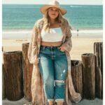 Como vestir en la playa si eres una mujer plus size