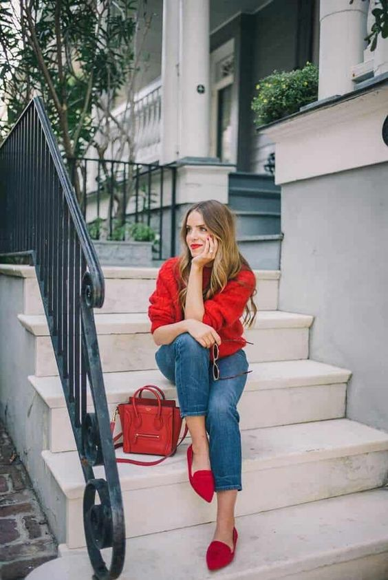 Looks con skinny jeans y flats