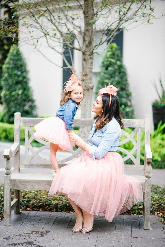 Conjuntos madre e hija para fiesta