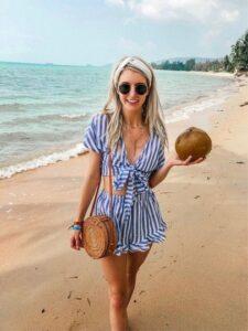 Conjuntos para usar en la playa si eres una mujer de 40