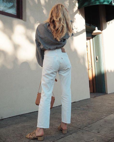 Cuida la ropa interior que uses con pantalones blancos