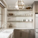Diseños de cocinas rústicas modernas de madera