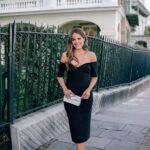 Usa el clásico vestido negro