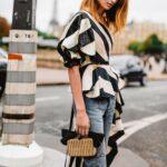 Elige blusas con colores y estampados brillantes