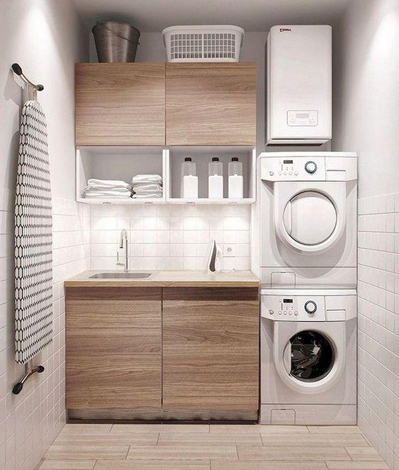 Estilos de decoración para un cuarto de lavado